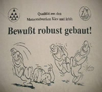 T-Shirt bewußt robust